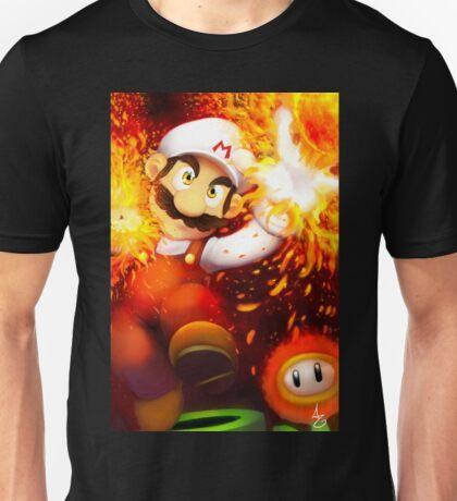 Epic Fire Mario Unisex T-Shirt