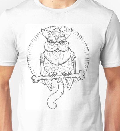Owl Cat  Unisex T-Shirt