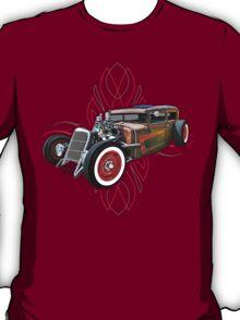 Pinstripe RAT 505 T-Shirt