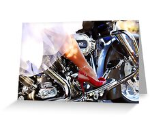 Bride's Ride Greeting Card