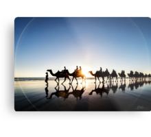 The Camels Metal Print