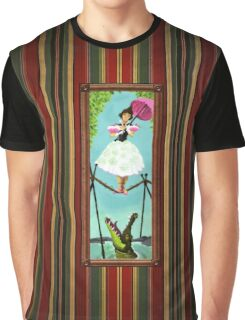 Tightrope Girl Graphic T-Shirt