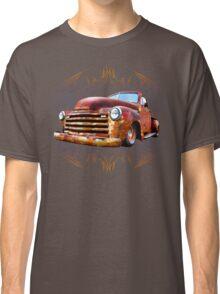 Pinstripe Rust Truck Classic T-Shirt