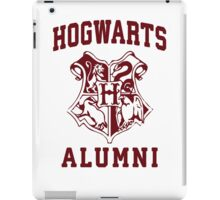 Hogwarts Alumni | Harry Potter Hogwarts Quote Shirt, Hogwarts Seal, Hogwarts Crest iPad Case/Skin