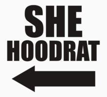 She Hoodrat, She Ratchet 2//2, Black Ink | Best Friends Stuff T-Shirt
