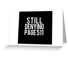 Page 511 Greeting Card