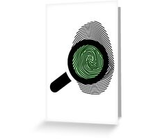 Fingerprint Greeting Card