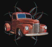 Pinstripe Rust Truck 2 by hotrodz