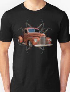 Pinstripe Rust Truck 2 Unisex T-Shirt
