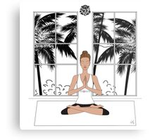 Yoga Girl.... Metal Print