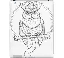 Owl Cat  iPad Case/Skin