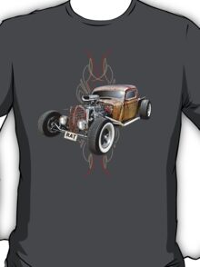 Pinstripe RAT - Full Throttle T-Shirt