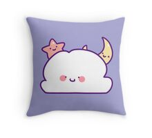 Cute Cloud Star and Moon Throw Pillow