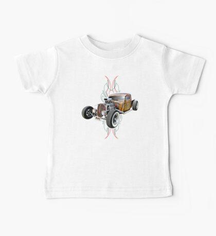 Pinstripe RAT - Full Throttle-a Baby Tee