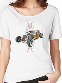 Pinstripe RAT - Full Throttle-a Women's Relaxed Fit T-Shirt