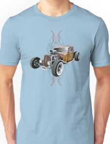 Pinstripe RAT - Full Throttle-a Unisex T-Shirt