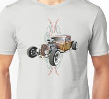 Pinstripe RAT - Full Throttle-a Unisex T-Shirt