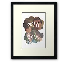 Okay? Okay. The Fault in Our Stars Framed Print