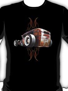 Pinstripe RAT - Rear View T-Shirt