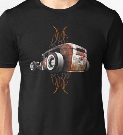 Pinstripe RAT - Rear View Unisex T-Shirt