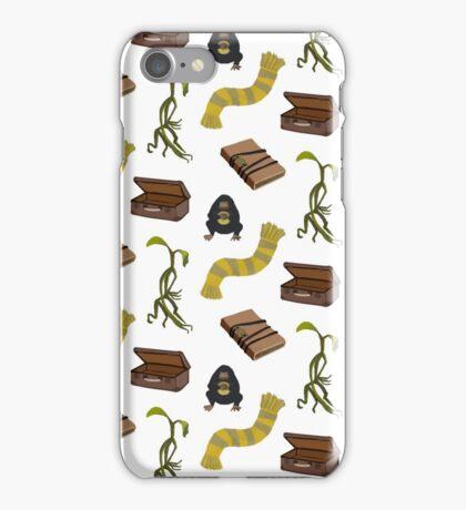 Newt Scamander stuff iPhone Case/Skin