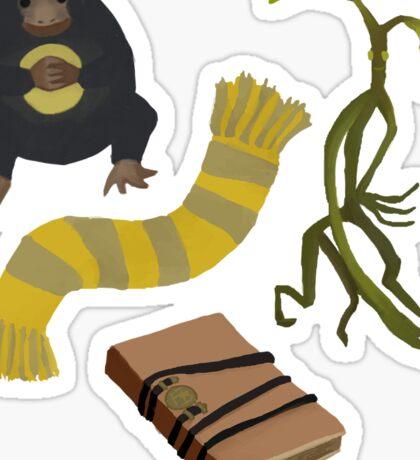 Newt Scamander stuff Sticker