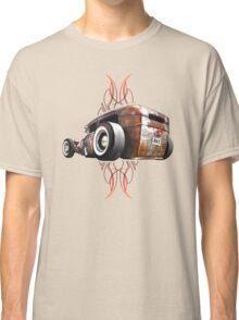 Pinstripe RAT - Rear View-a Classic T-Shirt