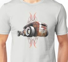 Pinstripe RAT - Rear View-a Unisex T-Shirt