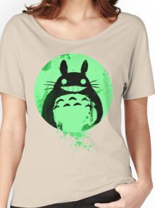 Totoro Ghibli Fanart ZOMBIE - by Mien Wayne Women's Relaxed Fit T-Shirt