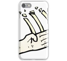 judo chop symbol iPhone Case/Skin