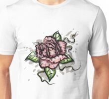 Rose On The Wall Unisex T-Shirt