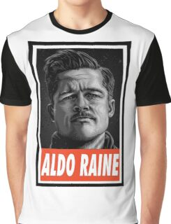 -MOVIES- Aldo Raine Inglorious Basterds Graphic T-Shirt