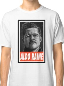 -MOVIES- Aldo Raine Inglorious Basterds Classic T-Shirt