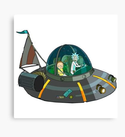 Ricky and Morty Canvas Print