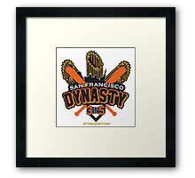 SF DYNASTY Framed Print