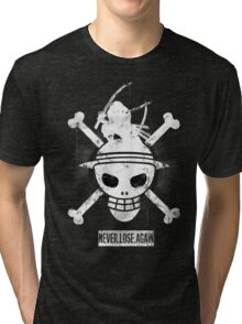 The Pirate King - ONE PIECE Fanart by Mien Wayne Tri-blend T-Shirt