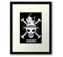 The Pirate King - ONE PIECE Fanart by Mien Wayne Framed Print