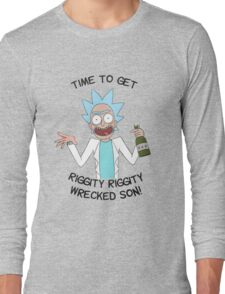Ricky and Morty Long Sleeve T-Shirt