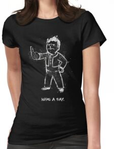 Mad Fallout Boy - Fanart by Mien Wayne Womens Fitted T-Shirt