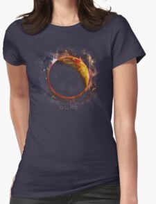 DUNE the spice must flow Womens Fitted T-Shirt