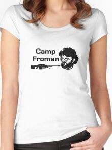 Camp Froman Women's Fitted Scoop T-Shirt