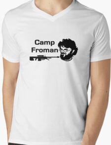 Camp Froman Mens V-Neck T-Shirt