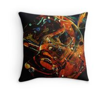 Abstract Shapes Throw Pillow