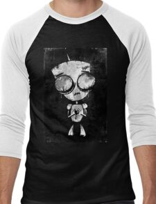 INVADER GIR - FANART by Mien Wayne Men's Baseball ¾ T-Shirt