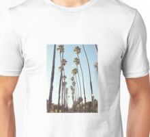 Santa Monica Palm Trees Unisex T-Shirt