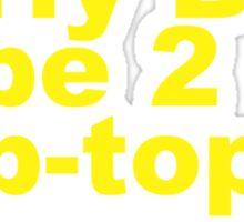 Early Bay Pop Type 2 Pop Top Yellow Sticker