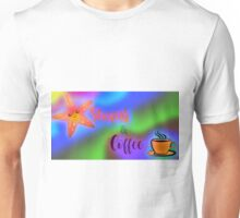 Starfish with Coffee Unisex T-Shirt