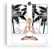 Yoga Girl..... Canvas Print