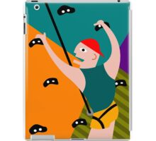 Rock Climbing Indoor iPad Case/Skin