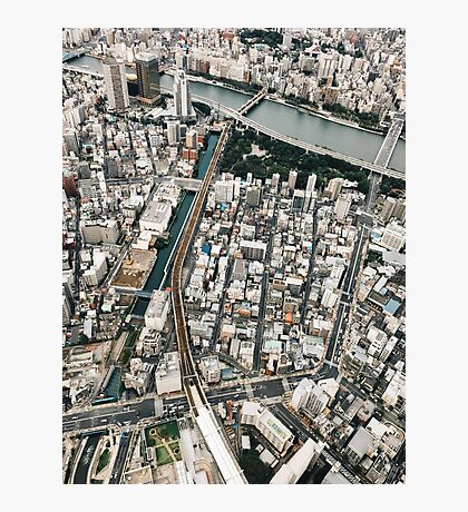 Japan - Tokyo From Above Photographic Print